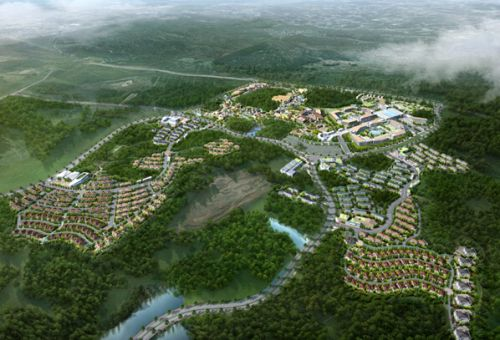 济州岛蓝鼎名胜公园